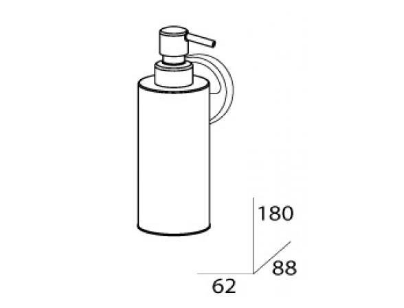 Дозатор для жидкого мыла FBS LUXIA LUX 011