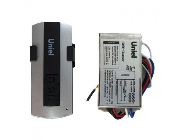 Дистанционный выключатель с пультом Uniel UCH-P001-G1-1000W-30M