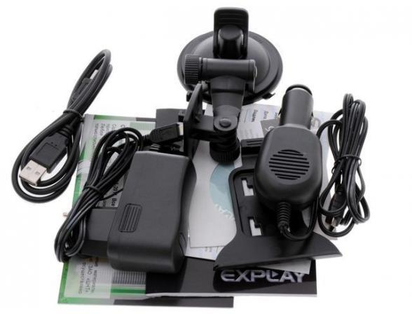 GPS-навигатор Explay PN-955 с картой Navitel(v5.0+rus+bel+ukr+fin)