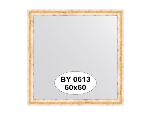 Зеркало в багетной раме EVOFORM красная бронза (60х60 см )BY 0613