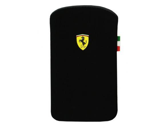 Чехол Ferrari для iPhone 4/4s Scuderia V1 (черный)