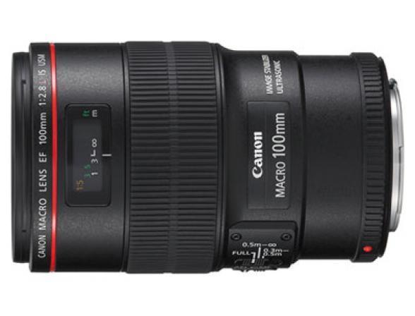 Объектив Canon EF 100 f/2.8L Macro IS USM