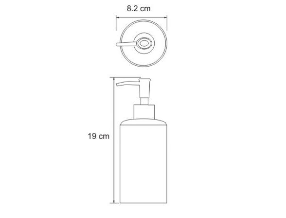 Дозатор WasserKRAFT Elde K-3699