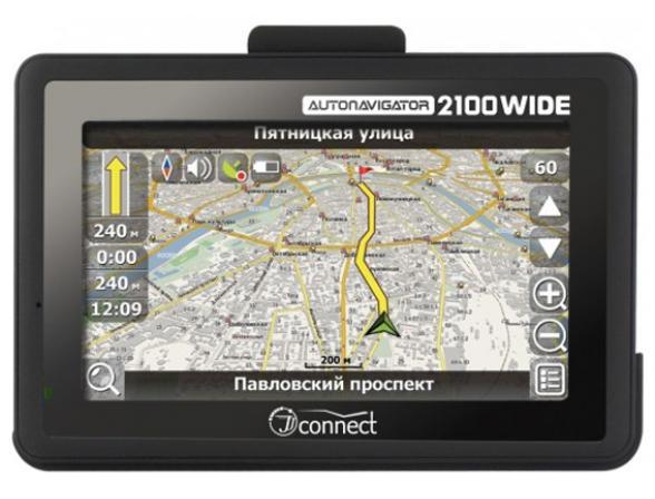 GPS-навигатор JJ-Connect AutoNavigator 2100 WIDE