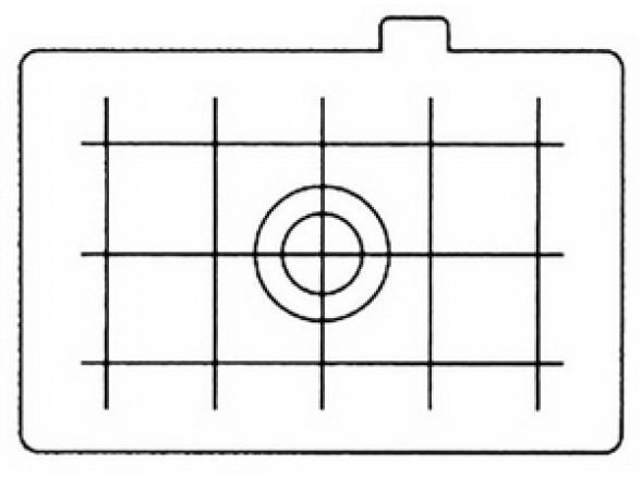 Фокусировочный экран Canon EC-D
