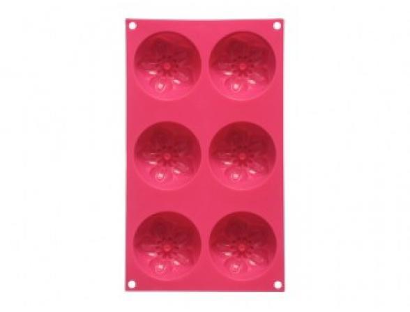 Форма для выпечки PREMIER HOUSEWARES 6 Цветов розовая