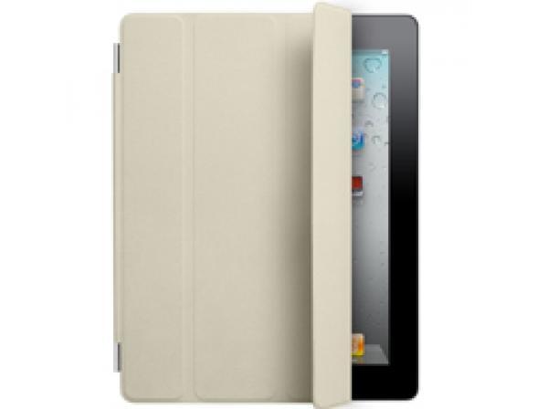 Чехол Apple iPad2 Smart Cover Leather Cream