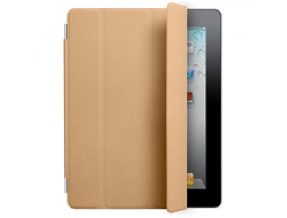 Чехол Apple iPad2 Smart Cover Leather Tan