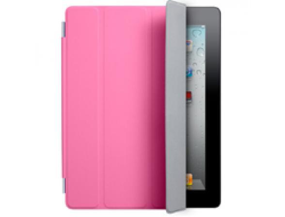 Чехол Apple iPad2 Smart Cover Polyurethane Pink