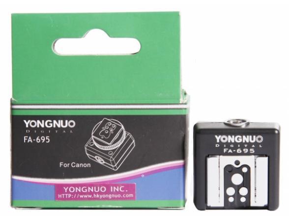 Адаптер на горячий башмак Yongnuo FA-695 для Canon