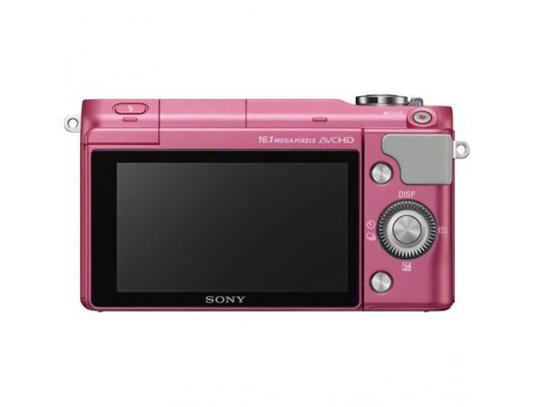 Цифровой фотоаппарат Sony Alpha NEX-3NL kit 16-50 pink*