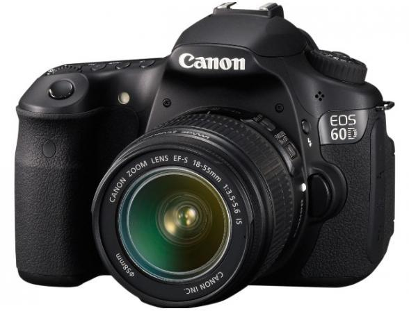 Зеркальный фотоаппарат Canon EOS 60D kit 18-55 IS II