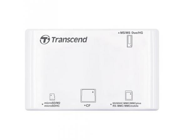 Ридер Transcend All-in-1 Multi Card Reader TS-RDP8W