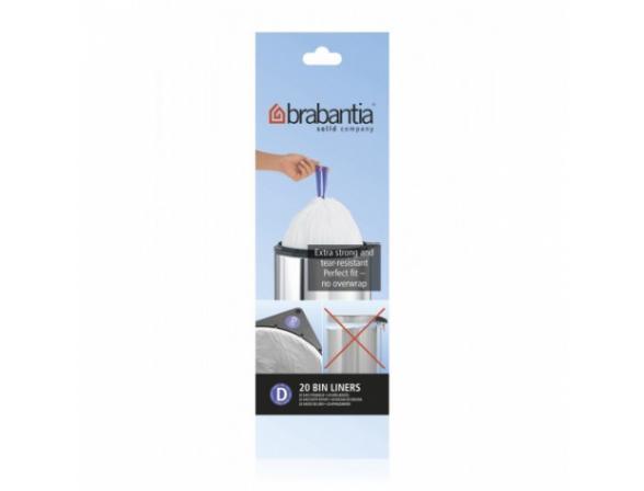 Пакет пластиковый Brabantia 246760 , 15л 20шт