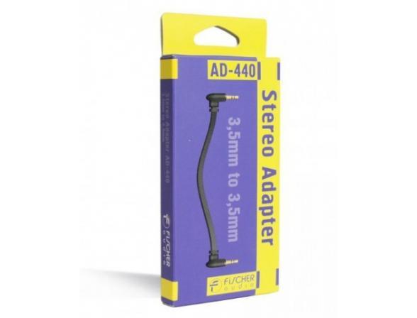 Переходник с 3,5mm на 3,5mm Fischer Audio AD-440
