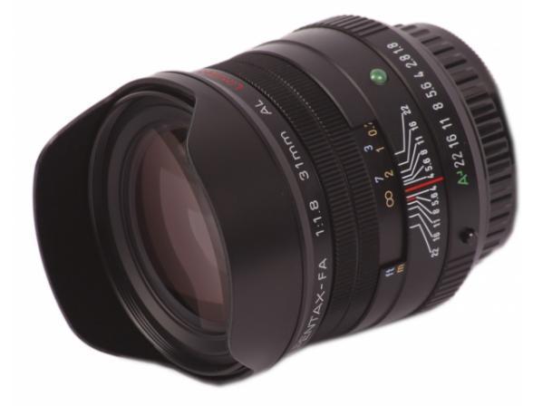 Объектив Pentax SMC FA 31mm f/1.8 AL Limited*