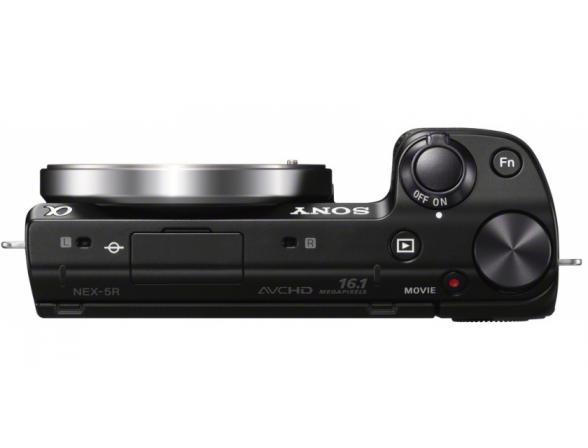 Цифровой фотоаппарат Sony Alpha NEX-5RA Kit 16mm black*
