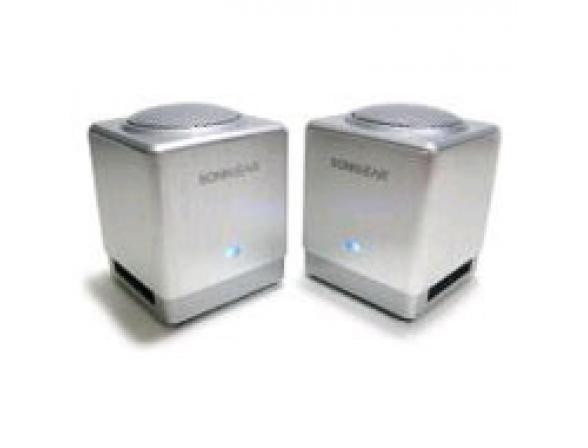 Колонки SonicGear Xenon XFi 200, металлик