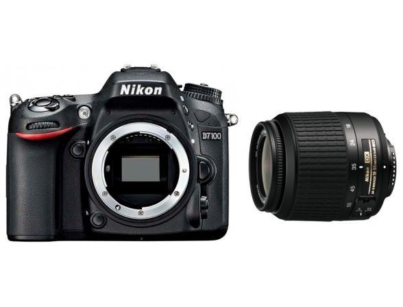 Зеркальный фотоаппарат Nikon D7100 Kit 18-55