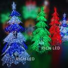 Светодиодная фигура Rich LED Ёлка, акриловая, 180 см, 800 LED, 220/24В.