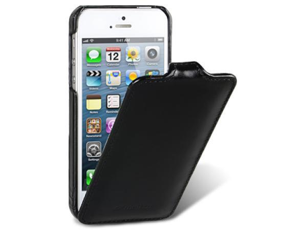 Чехол Melkco Leather Case for Aplle iPhone 5 - Jacka Type (Vintage Black)