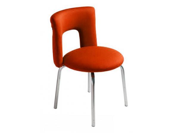Стул для посетителей BURO KF-1/Orange+G