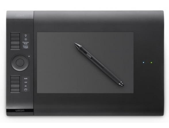Графический планшет Wacom PTK-540WL-RU Intuos4 Wireless