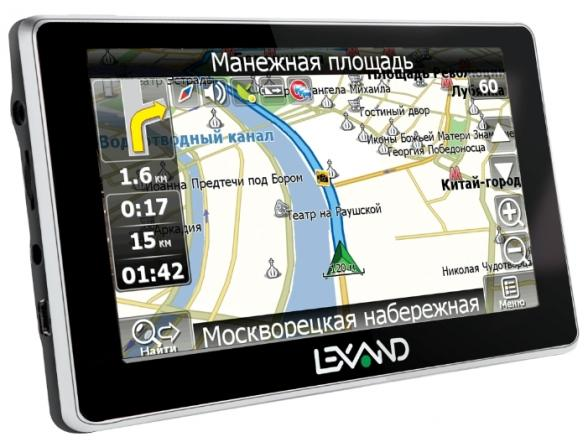 GPS-навигатор Lexand ST-5350 HD