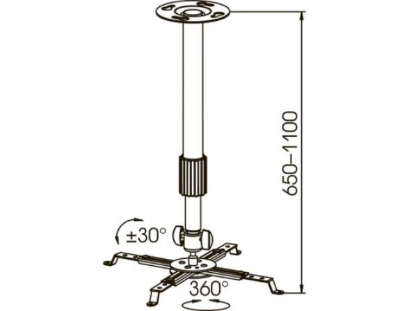 Кронштейн KROMAX PROJECTOR-300