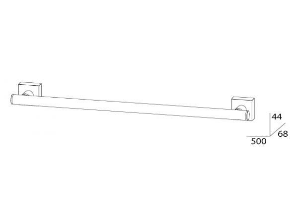 Держатель полотенца FBS ESPERADO 50 см ESP 031