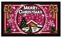 Коврик придверный Euroflock PHP S.r.l. Format Glitter Рождество 21103