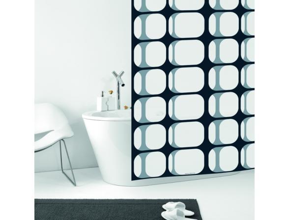 Штора для ванной Bacchetta 180х200 Frames