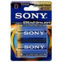 Батарейка Sony LR20-2BL STAMINA PLATINUM [AM1PTB2A] (20/60/2880)