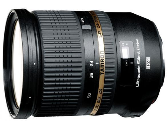 Объектив Tamron SP AF 24-70mm F/2.8 Di VC USD Canon