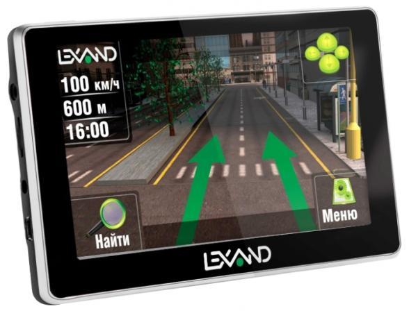 GPS-навигатор Lexand ST-610 HD