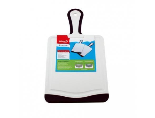 Кухонная доска антибактериальная MICROBAN FLUTTO 35x18см F-P-10