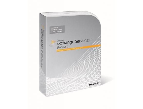 Microsoft ПО MS ExchgSvrStd 2010 RUS DiskKit MVL DVD (312-04019)