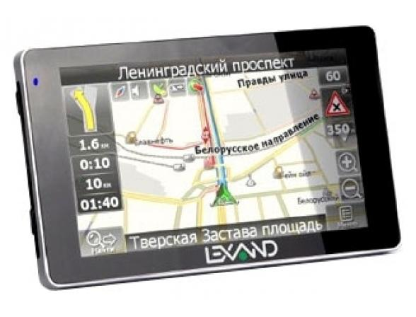 GPS-навигатор Lexand SM-537