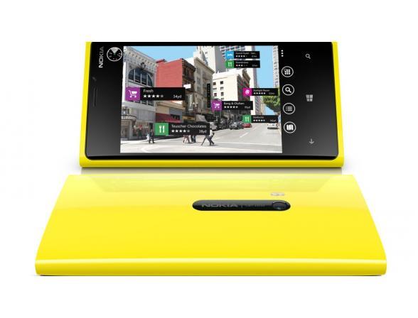 Смартфон Nokia Lumia 720 Yellow