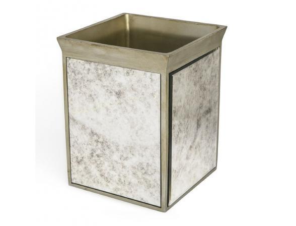 Корзина для мусора KASSATEX Palazzo Vintage Mirror