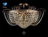 Люстра хрустальная Eurosvet 3109/12 Gold / Transparent Crystal