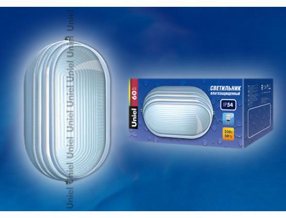 Светильник пылевлагозащищенный Uniel UWL-O-07-060-White