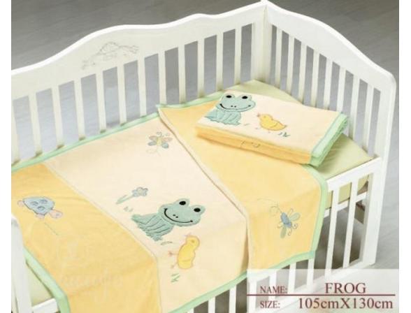 Плед для новорожденных ARYA Frog