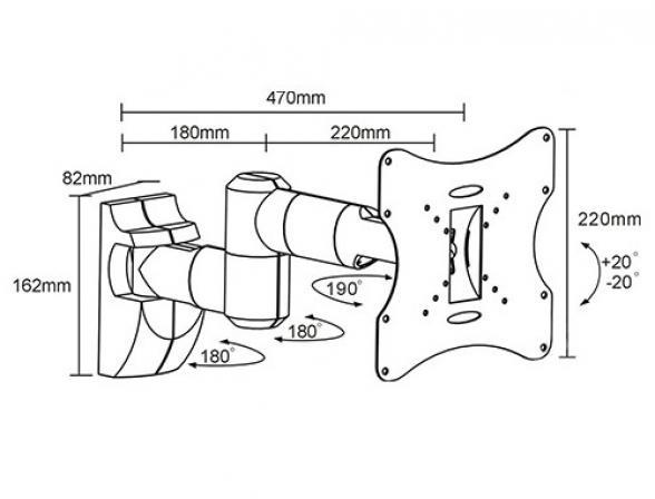 Кронштейн ARM MEDIA LCD-203