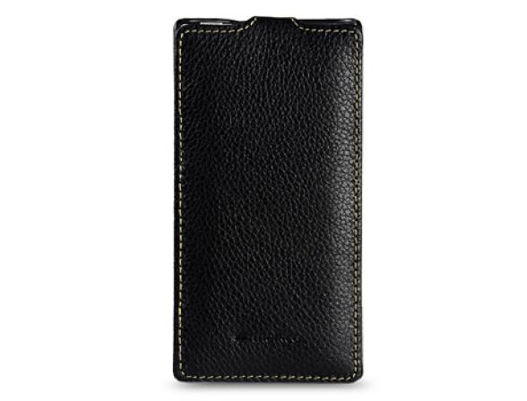 Чехол Melkco Premium Leather Case for Sony Xperia S(LT26i) - Jacka Type (Black LC)