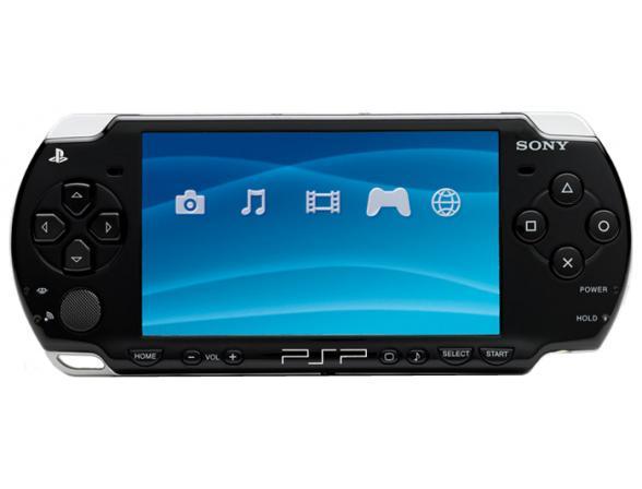 Игровая консоль Sony PSP Slim Base Pack Black