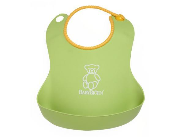 Мягкий нагрудник с карманом для крошек BabyBjorn Soft Bib 0462.55