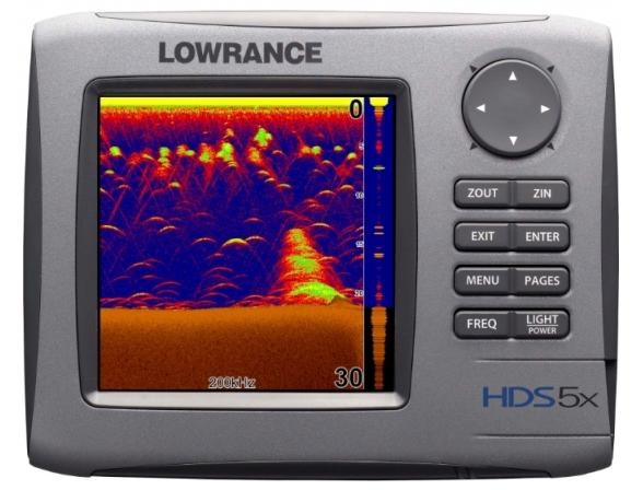 Картплоттер LOWRANCE HDS-5x 50/200 kHz