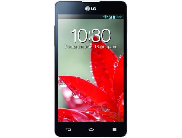 Смартфон LG Optimus G E975 Black