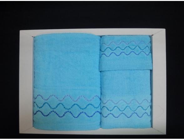 Комплект полотенец ARYA 3 пр. 30х50 50х90 70х140